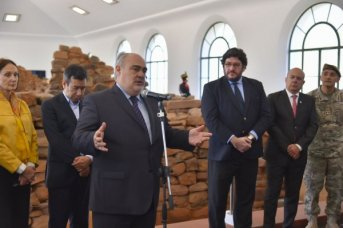 El ministro de Cultura de la Nación, Pablo Avelluto, consideró al Padre de la Patria el punto de encuentro de los argentinos