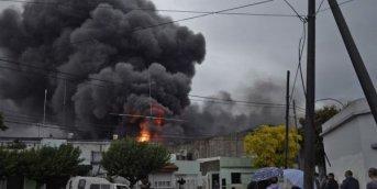 Incendio de un galpón dejó una perdida de casi 3 millones de pesos