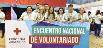 Inició el Encuentro Nacional de Voluntarios de Cruz Roja Argentina
