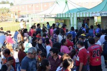 El Tekové Potí compartió la vida pura en el festejo de Boca Unidos