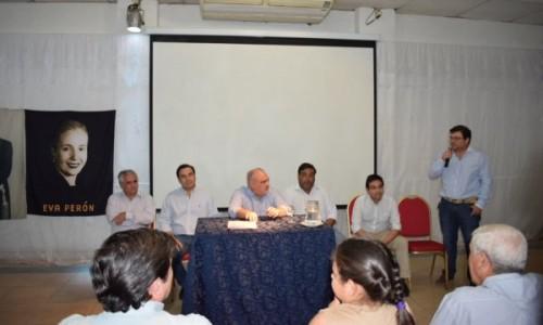 Colombi y Valdés se reunieron con intendentes y dirigentes del Movimiento Justicialista Norte Grande