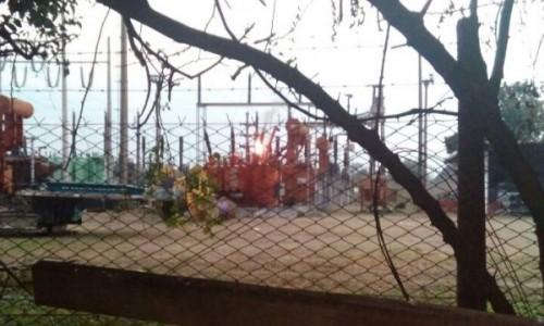 Bella Vista: se incendió otro transformador de Transnea y la ciudad nuevamente está sin luz