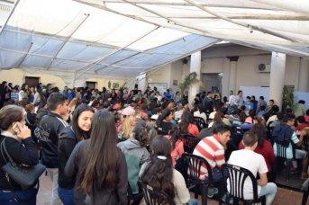 Inició en el Palacio Municipal la entrega de las tarjetas Sube estudiantil a los colegios Hipólito Yrigoyen y Pedro Ferré