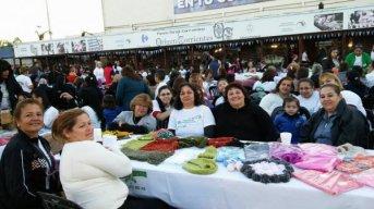 Más de 1500 madres expusieron y donaron seis mil prendas para Hogares de Ancianos