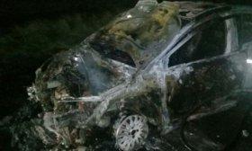 Hallaron un veh�culo incendiado en la ruta: habr�a sido abandonado por narcos