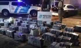 Prefectura incaut� m�s de 75 kilos de marihuana en la Isla Meza