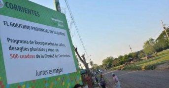 La Provincia ya implementa el plan de ripio en siete barrios