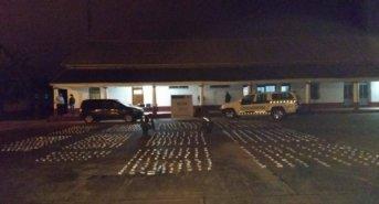 Decomisaron más de 100 kilos de marihuana en un control sobre la Ruta 14