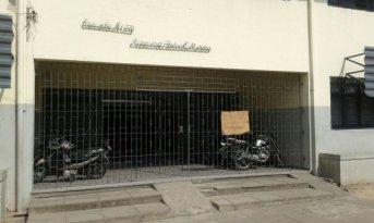 Incomprensible ataque vandálico a una escuela en el barrio Laguna Seca