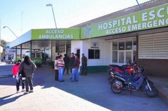 Hospital Escuela: 46 ingresos por siniestros viales y agresiones