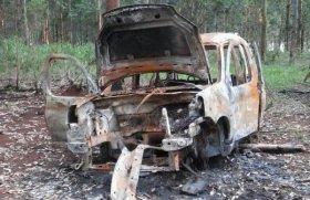 Rastrillan zona donde estaba el vehículo de dos desaparecidos