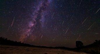 Una lluvia de estrellas se avistará esta noche
