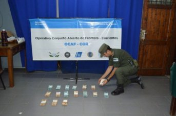 Gendarmería incautó 125 mil reales en Ruta Nacional 14