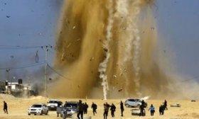 Crece la tensi�n en Jerusal�n: bombardeos israel�es en Gaza causan 10 heridos