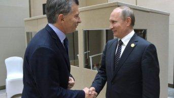 Macri inicia gira por Rusia, Suiza y Francia con múltiples reuniones