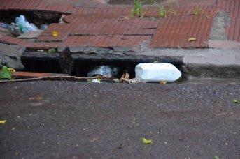 El Municipio pidió no sacar basura hasta que cese el mal tiempo
