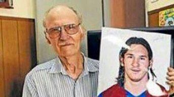 Murió el abuelo materno de Lionel Messi
