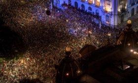 Miles de brasile�os protestaron tras el asesinato de la pol�tica Marielle Franco