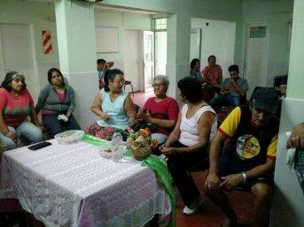 Articulación y charla con personal de Salud