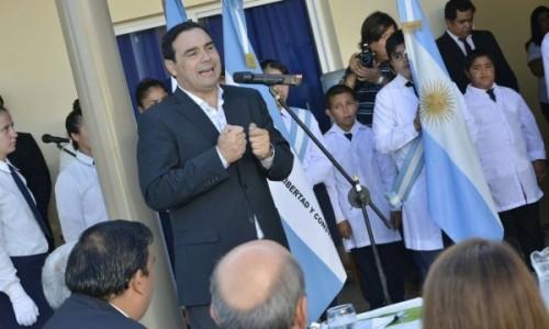 """El gobernador Valdés inauguró una nueva escuela en Yahapé reafirmando que la educación es """"igualdad de oportunidades"""""""
