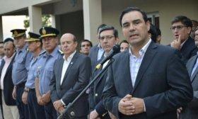 Ber�n de Astrada: potenciando la contenci�n de los correntinos, Gustavo Vald�s reinaugur� la Comisar�a de Distrito