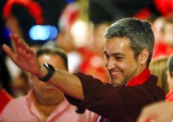 El oficialista Mario Abdo Benítez fue electo presidente de Paraguay