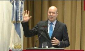 Federico Sturzenegger da por superada la crisis y dice que vuelve a poner el foco en la inflaci�n