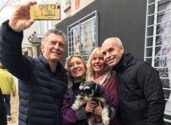 Macri encabezó el primer timbreo después de la crisis cambiaria