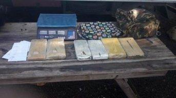 Gendarmería detuvo a dos mujeres con droga en una mochila