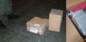 Camión de encomiendas partió con droga desde Corrientes