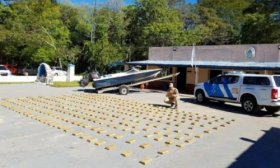 It� Ibat�: Incautaron m�s de 234 kilos de marihuana sobre el r�o Paran�