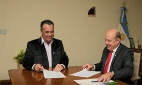 Vicegobernadores de Corrientes y Chaco con apoyo a emprendedores