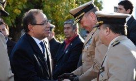 El intendente particip� del acto por el 36° aniversario del Combate Aeronaval en Malvinas