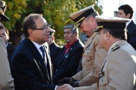 El intendente participó del acto por el 36° aniversario del Combate Aeronaval en Malvinas