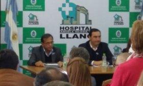 Exclusivo: El gobernador Vald�s anunci� la construcci�n de un nuevo Hospital Neonatal