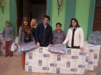 El Gobierno provincial asistió a familias de Santa Ana