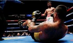 Lucas Matthysse perdi� por nocaut contra Manny Pacquiao y cedi� su t�tulo mundial