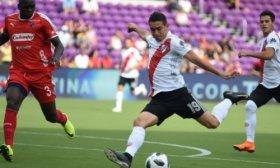 River le gan� a Independiente de Medell�n en los penales