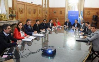 Frigerio y Dujovne se reunieron con ministros provinciales de Economía