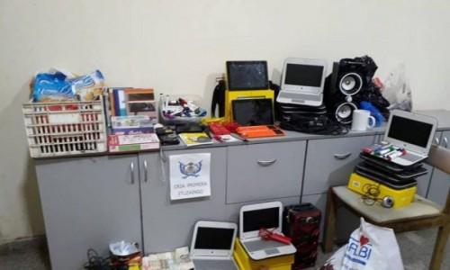 Robo en escuela de Ituzaingó: Los ladrones de 7 a 15 años fueron detenidos y una madre demorada