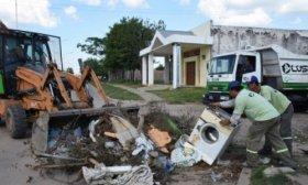 La Municipalidad inicia descacharrado en el barrio 17 de agosto