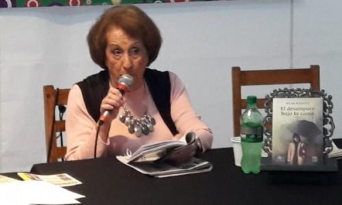 """Pilar Romano la escritora homenajeada de esta 8ª Edición presentó """"El Desamparo bajo la cama"""""""