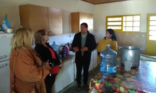 Desarrollo Social recorrió comedores comunitarios