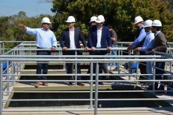 En Ituzaingó, el gobernador Valdés inauguró una planta potabilizadora