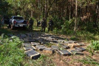 Golpe al narcotráfico: Cayó una mega banda con 7 toneladas de marihuana en Misiones