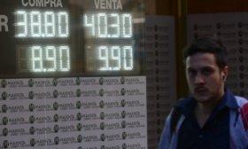 El d�lar baj� a $ 40,12; la Bolsa sube 3% y el riesgo pa�s cae a 622 puntos