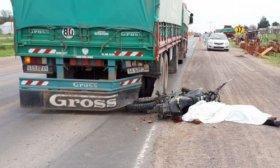 Machagai: Un cami�n atropell� y mat� a un motociclista de 26 a�os en Ruta 16
