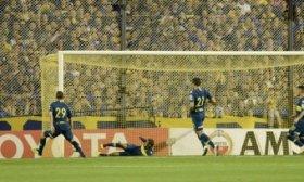 ¡Vale un gol! Wilmar Barrios salv� lo que era el empate de Cruzeiro ante Boca