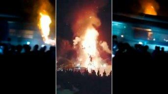 Un tren atropelló a una multitud en India: hay más de 50 muertos