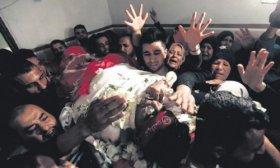 Un palestino muri� en Israel y otros siete en la Franja
